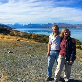 Lake Pukaki and Aoraki/Mount Cook on a clear