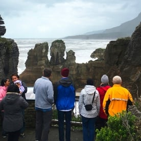 Whatever the weather – and it can get wild! – the Pancake Rocks at Punakaiki are always impressive