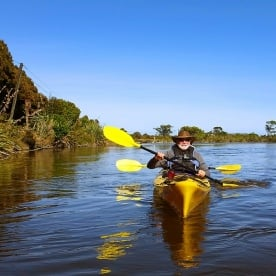 Guided Kayaking Tour at Okarito Lagoon