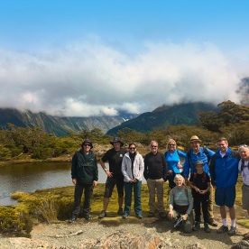Atop the Routeburn Track