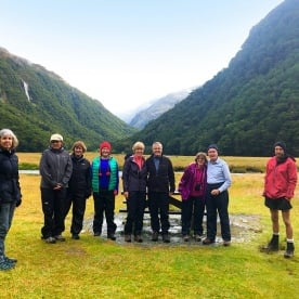 At the Routeburn flats