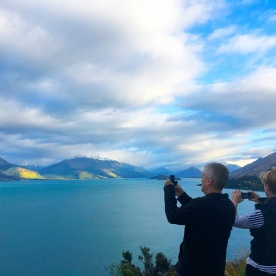 Stunning light over Lake Wakatipu. The view from Bennetts Bluff looking north towards Glenorchy and the Routeburn Track.