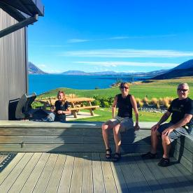 Chillaxing at the Ohau Quarters