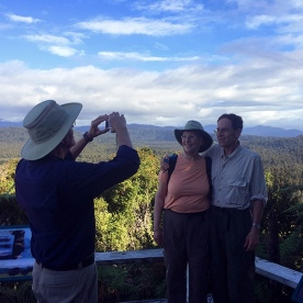 photo time at okarito trig lookout new zealand