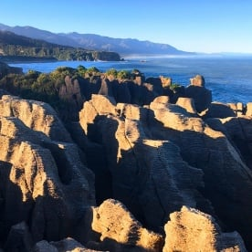 This is why they call them the Pancake Rocks