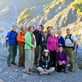 nz trails group at fox glacier new zealand