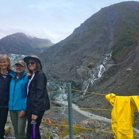 Group at Fox Glacier