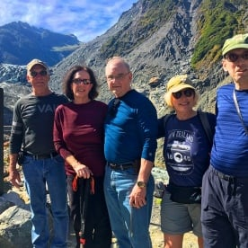 The team at Fox Glacier