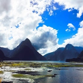 Milford Sound at her most majestic!
