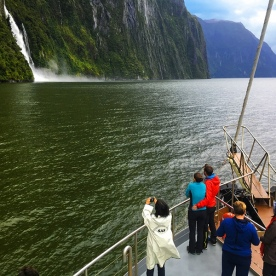 Milford Sound Overnight Boat