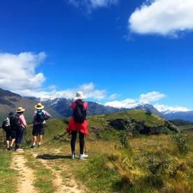 Hiking Mount Aspiring National Park