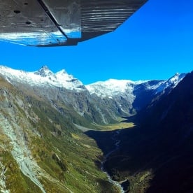 Incredible views on the Scenic Flight into the Siberia Valley