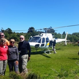 Helicopter Tour at Hollyford Valley