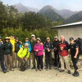 Group at Routeburn Track