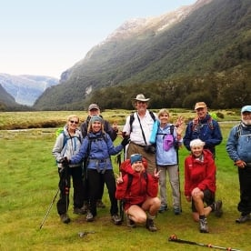 Group at Eglinton Valley