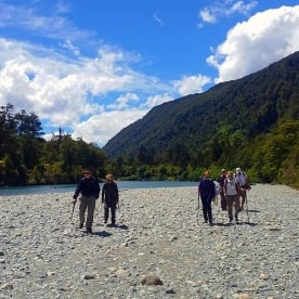 Hiking Hollyford Track