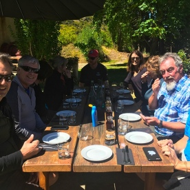 Another fabulous lunch in the sunshine!  Queenstown New Zealand