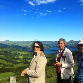 Group at Akaroa Lookout