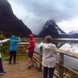 Group at Milford Sound