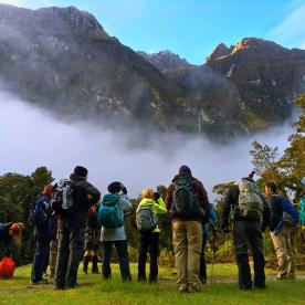 Group at Milford Track