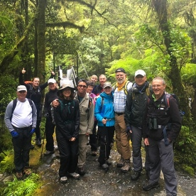 Group on Milford Track