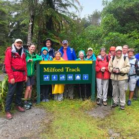 The world famous Milford Track