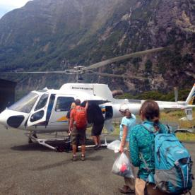 milford sound helicopter experience