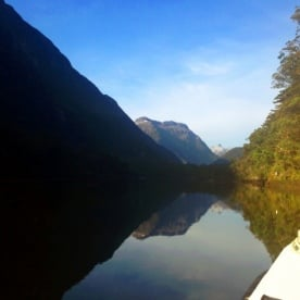 boatride to the milford track