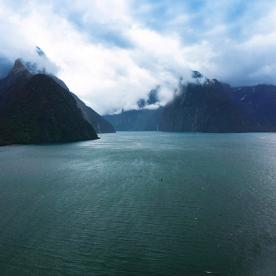 Scenic Flight into the incredible Milford Sound