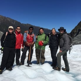 Guided Hiking Group on Fox Glacier