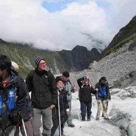Wow! Hiking on Fox Glacier