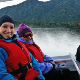 Jet Boat to the Hollyford Track