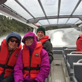 Jetboat to the Hollyford Track
