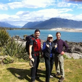 Stunning Martins Bay on the Fiordland Coast