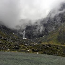 Waterfalls along the Milford Road