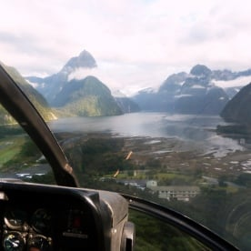 Milford Sound by Helicopter