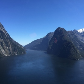 Milford Sound Helicopter Flight