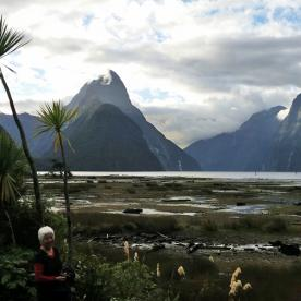 Milford Sound in the evening