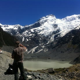 Hiking in Mt Cook