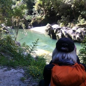 Hiking in beautiful Paparoa National Park