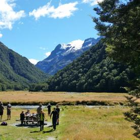 Lunchtime on the Routeburn Track