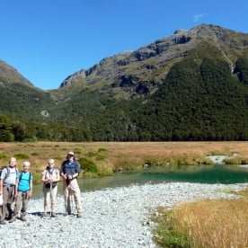 Routeburn Track for the day