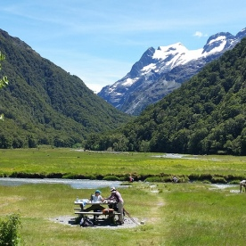 Routeburn Flats Picnic Lunch