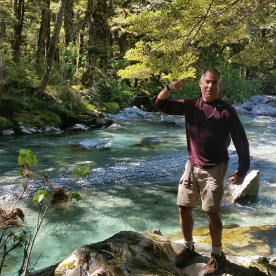 Routeburn River Hiking