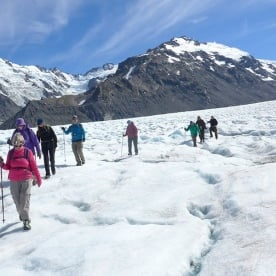 Heli Hike on the Tasman Glacier