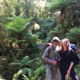 Walking the Hollyford Track