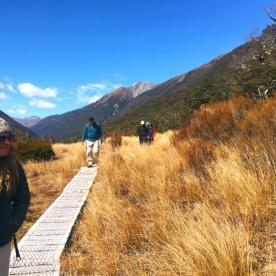 Hiking in Arthurs Pass