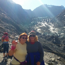 fox glacier hikers