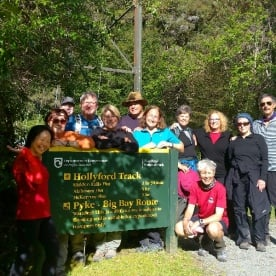 hollyford track hiking group