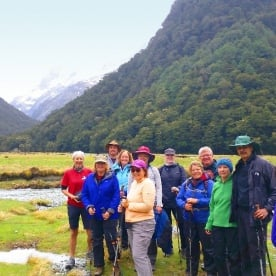 routeburn flats hiking group